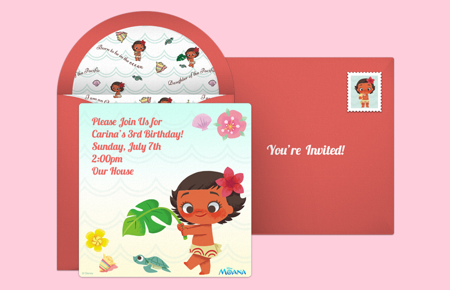 Plan a Baby Moana Party!